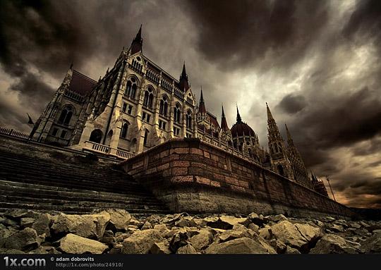 ghost palace by adam dobrovits