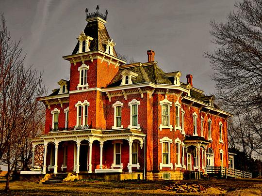 John Wright Mansion, 1882 by Robert Myer