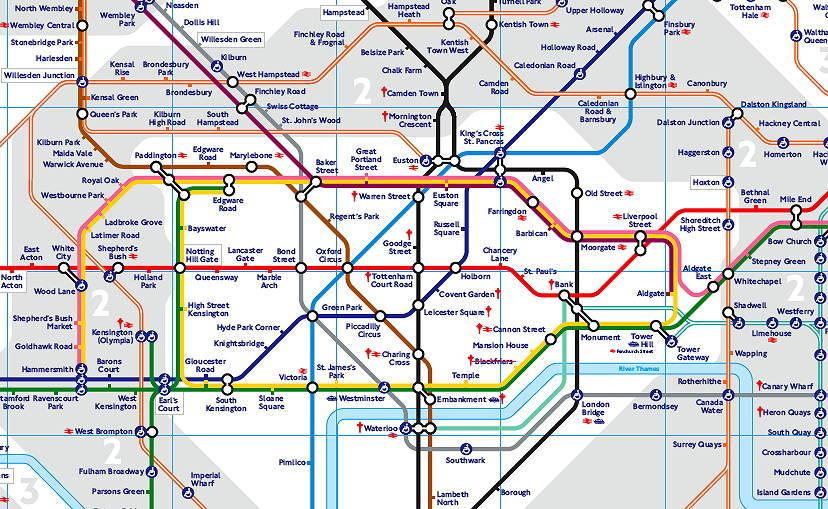 London Tube Map 2011