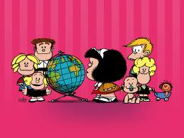 Mafalda Color Mundo