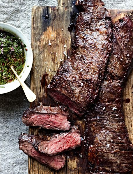 Grilled Skirt Steak With Chimichurri 6461