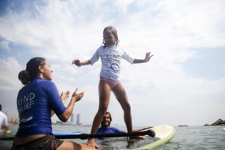 2ª JORNADA KIND SURF EN BARCELONA