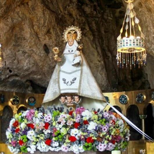 Virgen de #Covadonga