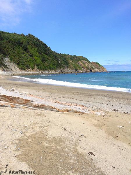 Oleiros Beach Cudillero Asturias Spain