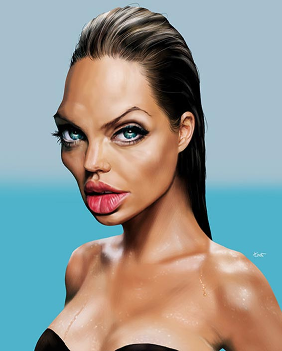 Angelina Jolie Par Hermann Klement