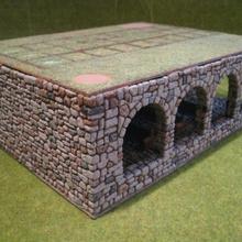 Banquillo abadía cerrado