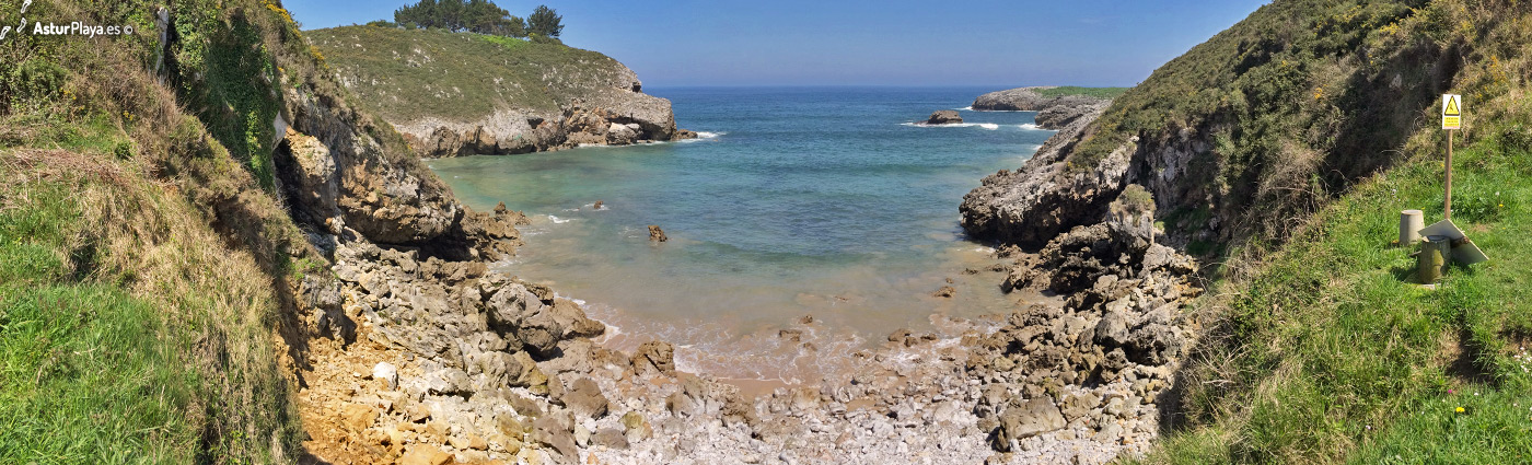Portiellu Beach Llanes Asturias2