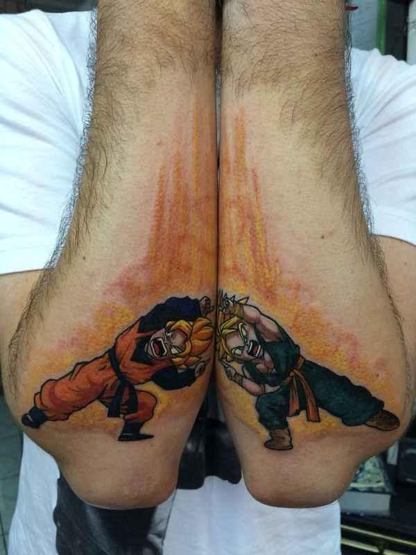 Los Mejores Tatuajes De Dragon Ball Beqbe
