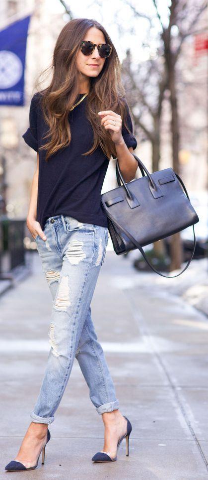 Tendencia Jeans Doblados Cuffed 1