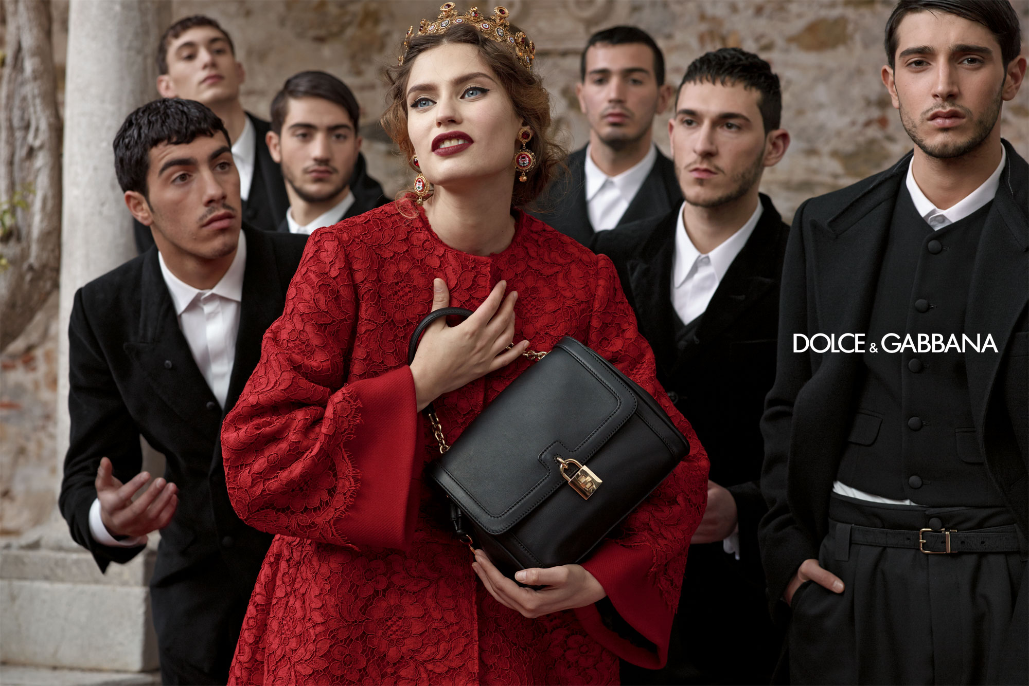 Dolce And Gabbana Fw 2014 Women Adv Campaign 12