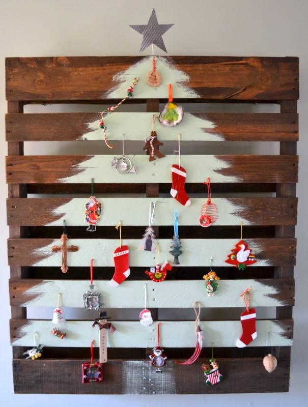 Arbol De Navidad Con Palet