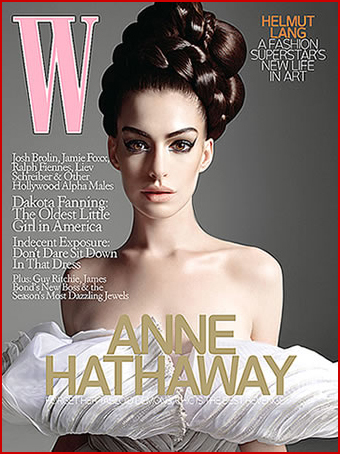 W Magazine Hathaway