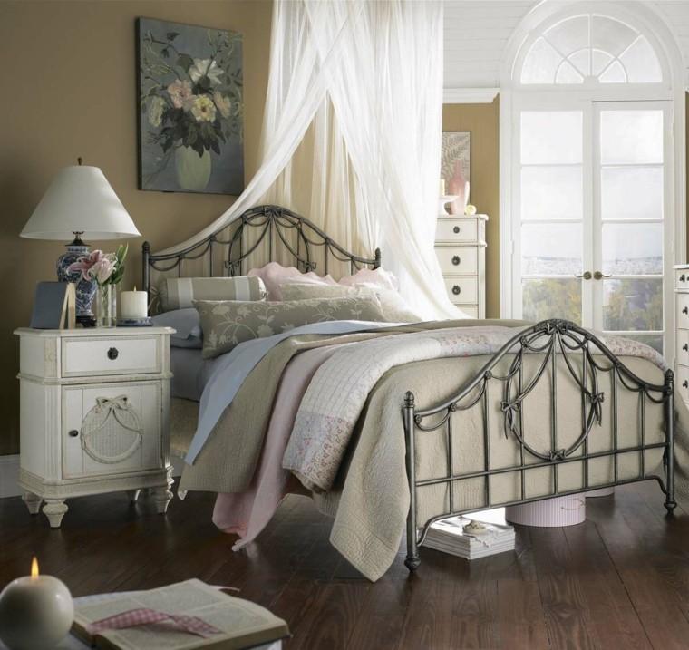 Deocracion Dormitorio Vintage Cama