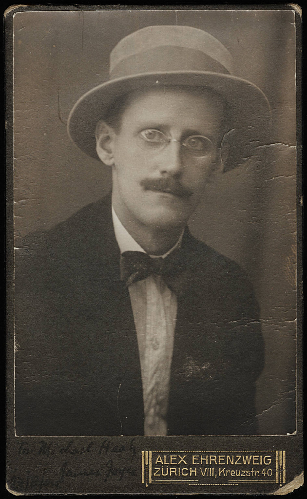 James Joyce, 1915.