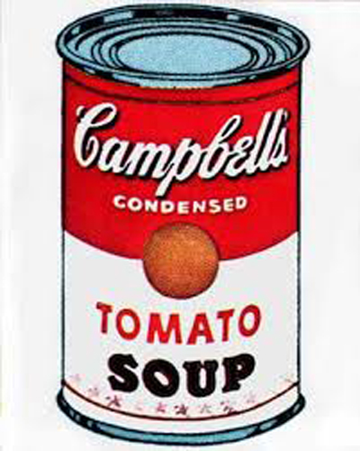 6. Campbell's Soup I Tomato