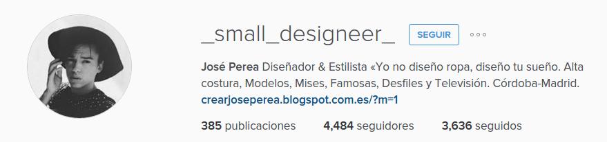 Instagram Jose Perea
