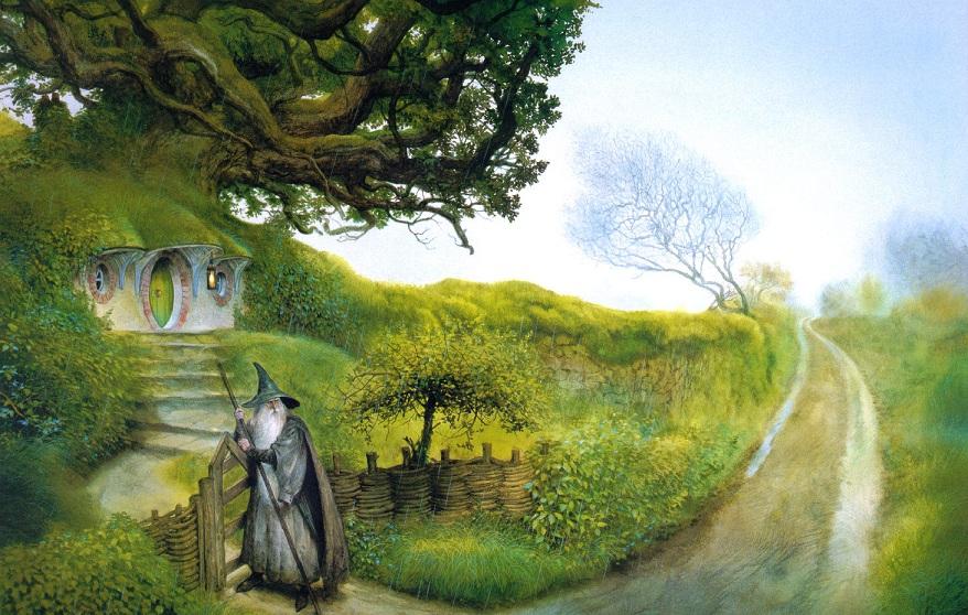 Hobbit Agujero Suelo Viv Tolkien 4 1500674
