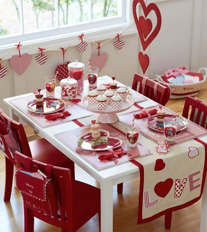 Decorar La Mesa En San Valentin