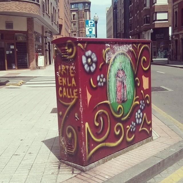 Parece Un Caja De Galletas Cuetara Gigante Arteenlacalle Gijon Asturias Streetart Graffiti