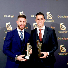 Los premiados de la Gala de la Liga