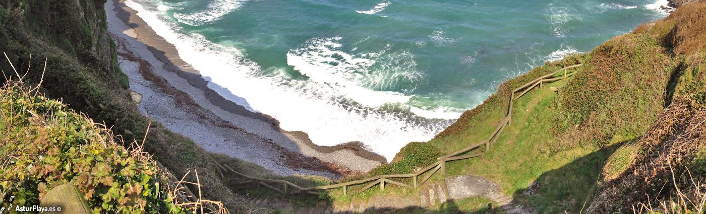 Cambaredo Beach Asturias3