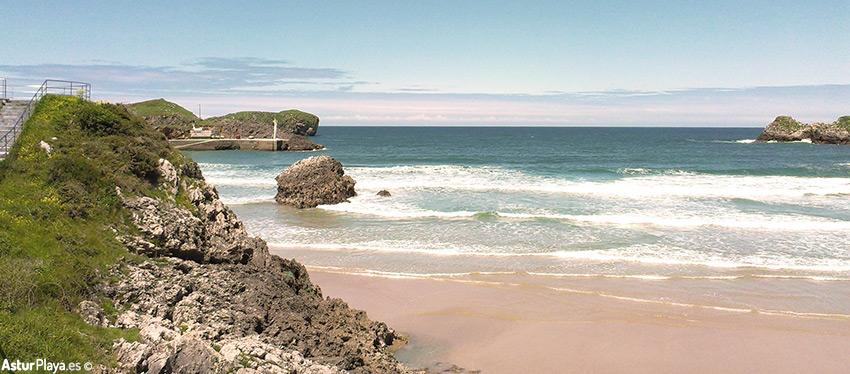 Mirador entre la playa de Palombina y la playa de Los Curas