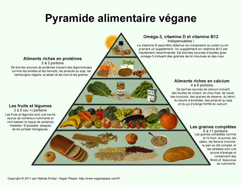 Pyramide Alimentation