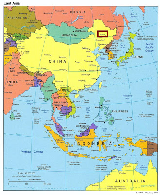 Mapa localización de Harbin