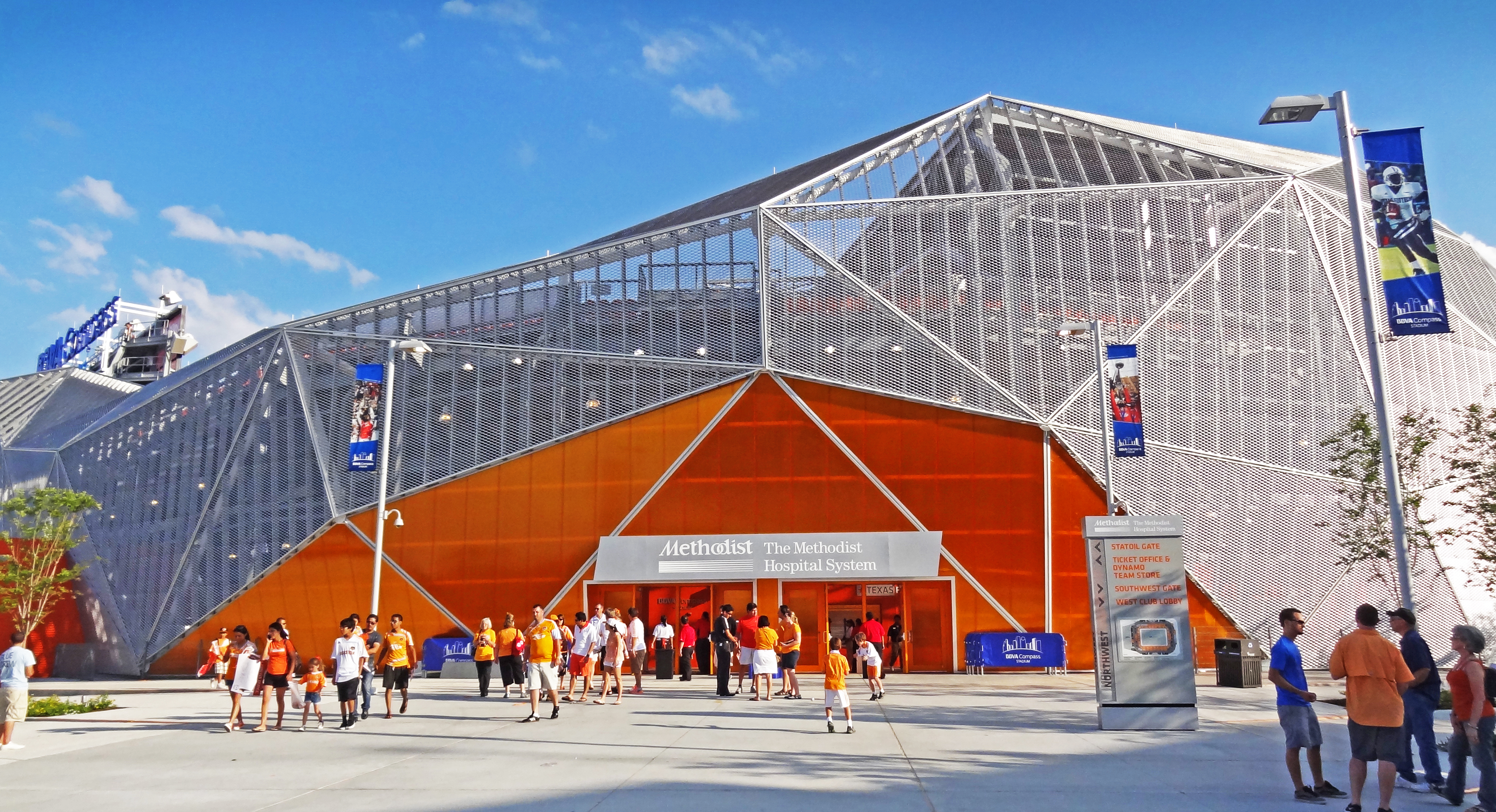 Bbva Compass Stadium Northwest Entrance