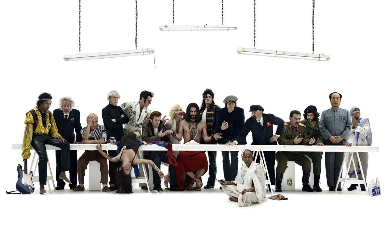 Supper Le Banquet Des Idoles By Gerard Rancinan