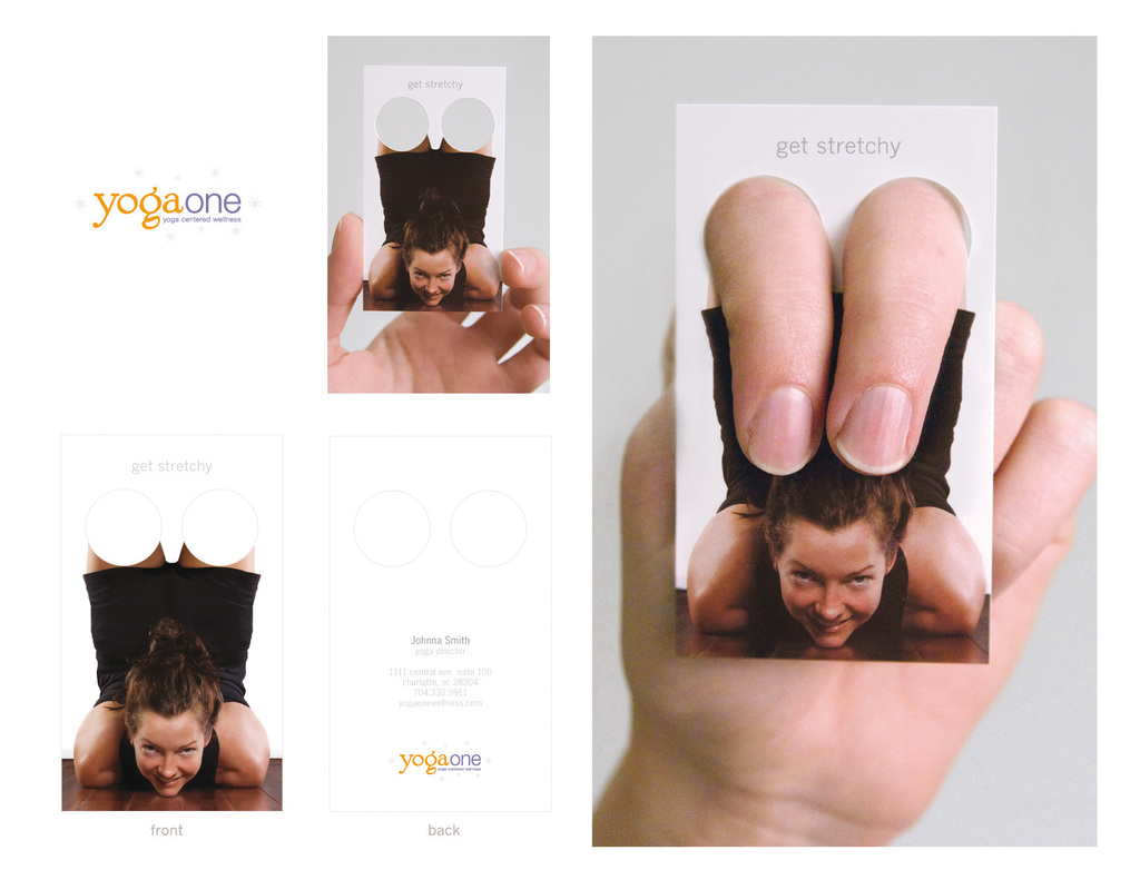 Yoga One Business Card