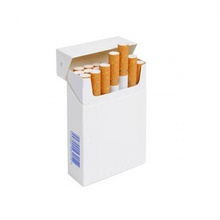 Variety of Cardboard Cigarette Boxes
