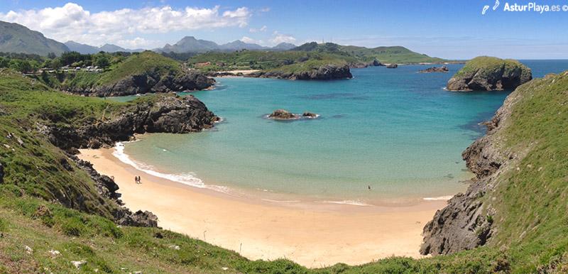 Tayada Beach Llanes Asturias Spain