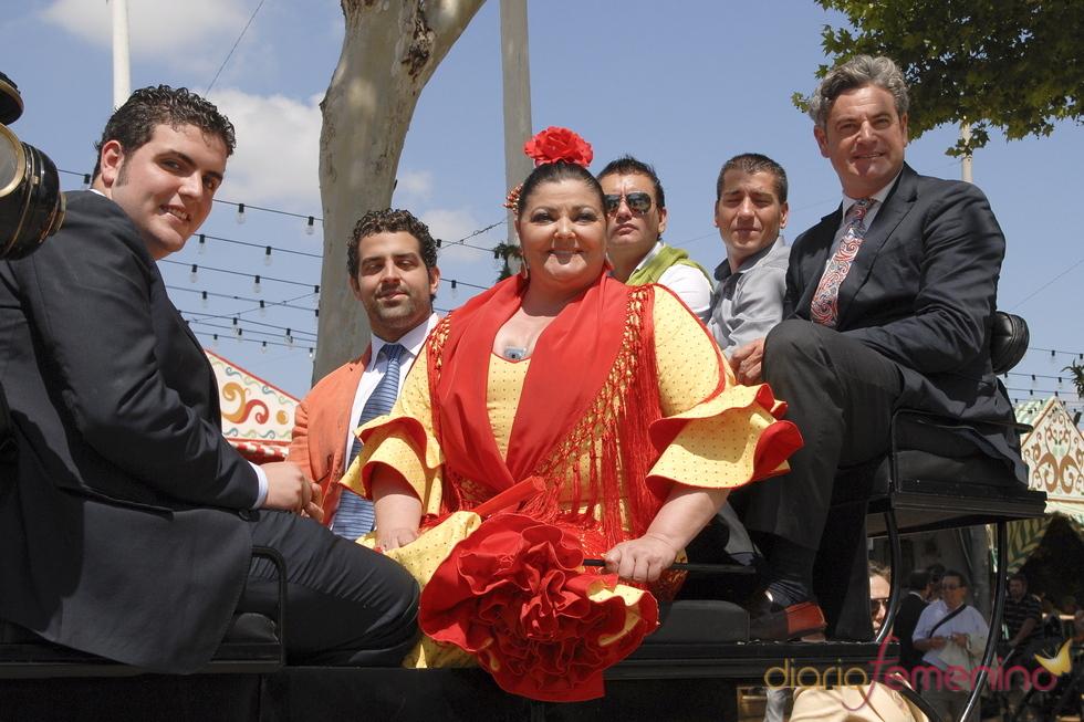 18430 Charo Reina En La Feria De Abril 2011
