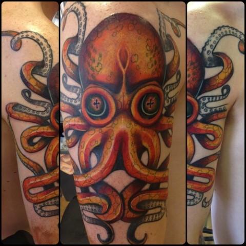 Los Mejores Tatuajes De Pulpos