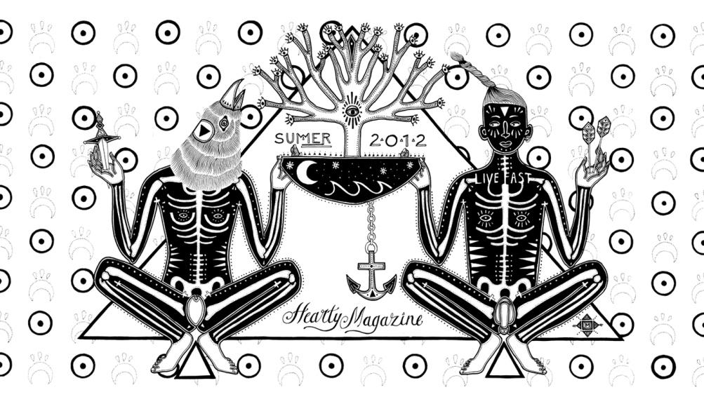 Hearty Magazine Summer Cover 2012 Minka Sicklinger