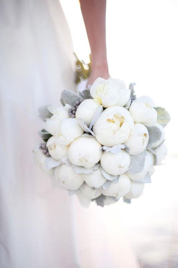Photos De Bouquets De Pivoines Blanches Mariage