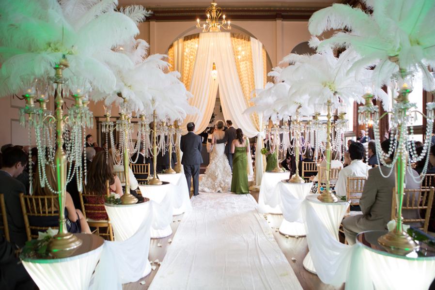 Great Gatsby Wedding 53