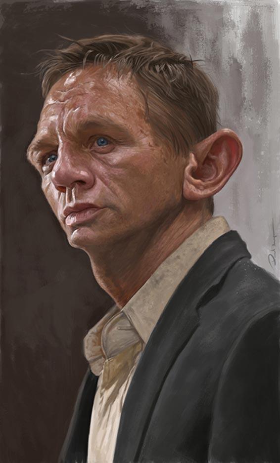 Daniel Craig Par Paul Moyse