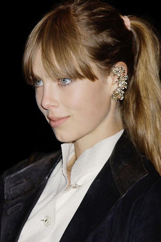 Ear Cuff Diamond Style