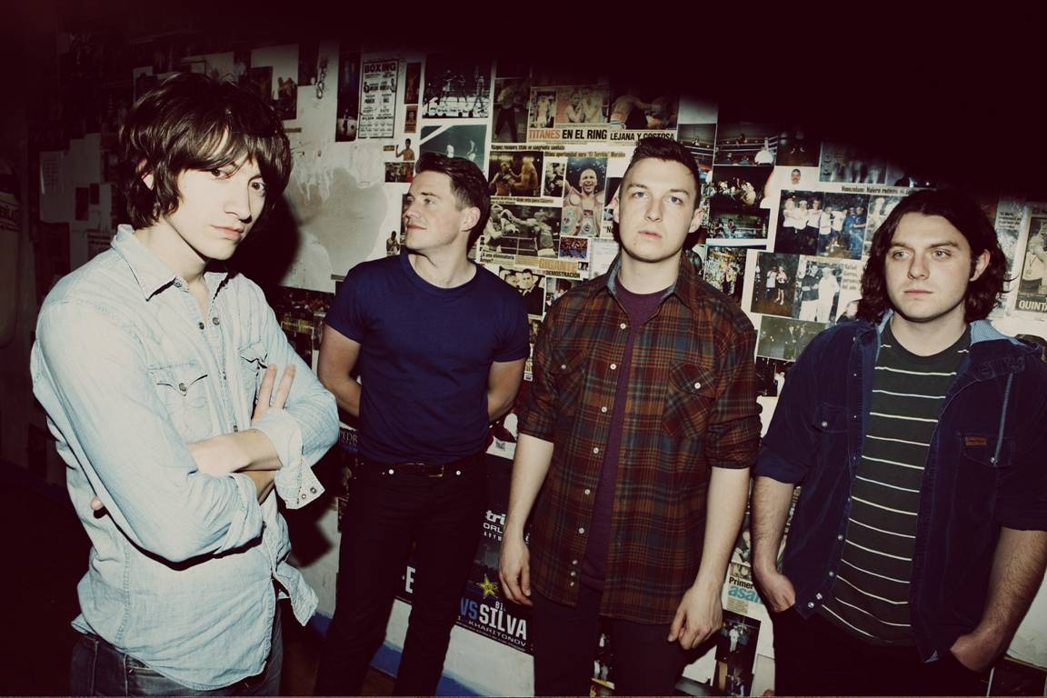 Arctic Monkeys In 2007 The Year Of Mercury Prize Award Winning