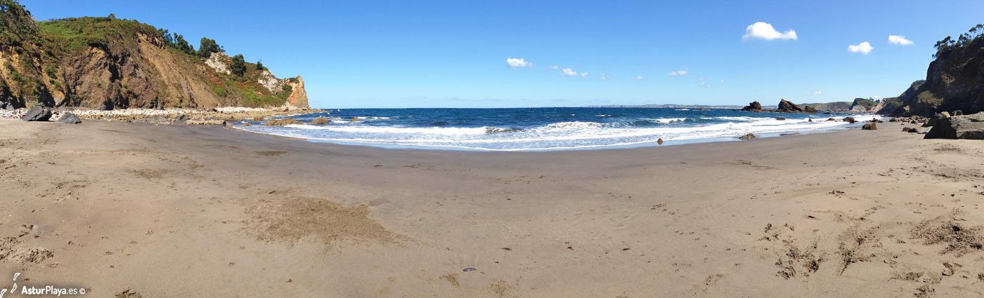 Reguero Cordial Beach Asturias1