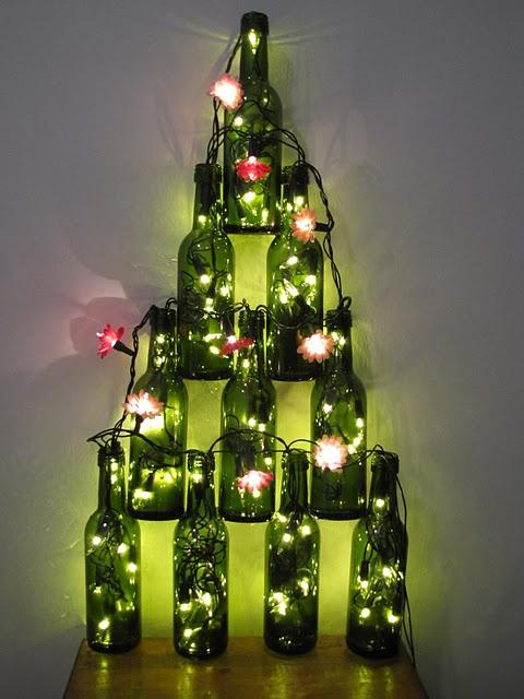 Arbol Navidad Ecologico Botellas Vidrio