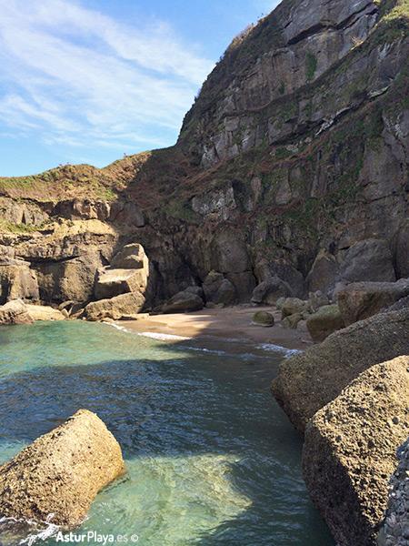 Cagonera Beach Gijon Asturias
