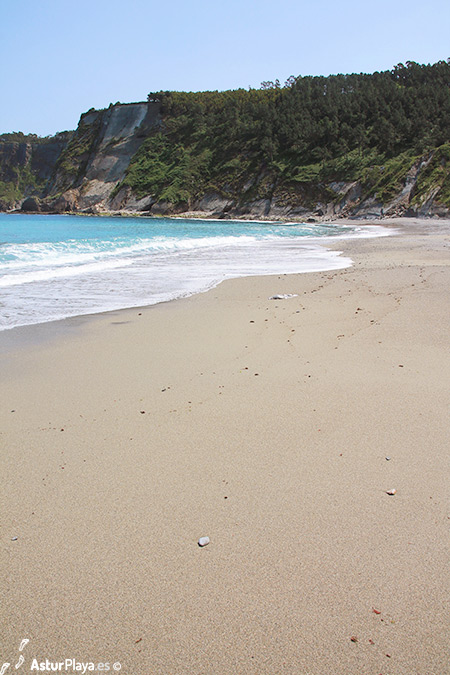 Oleiros Beach Cudillero Asturias