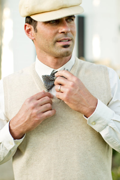 Great Gatsby Groom Style