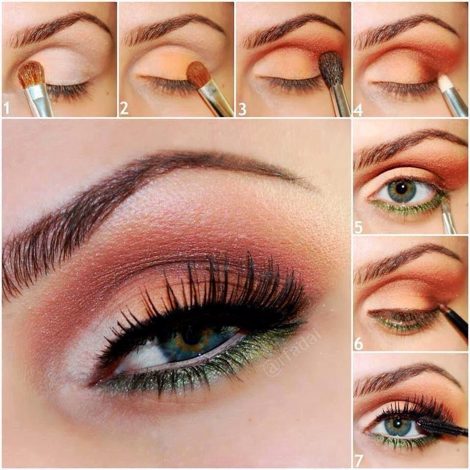 Ojos Azules Maquillaje De Ojo