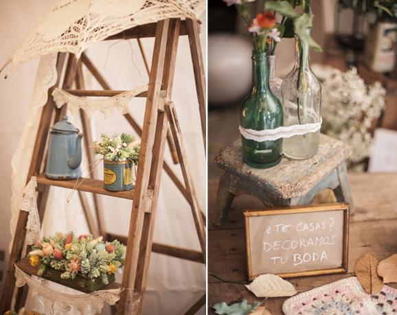Ideas para una boda vintage beqbe - Detalles vintage decoracion ...