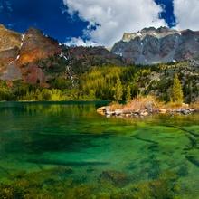 Le lac Vert en Autriche.