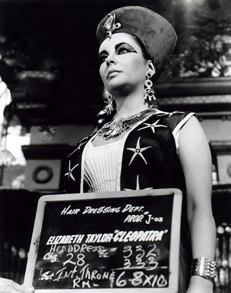 Cleopatra 1963 Elizabeth Taylor Hair Dressing Test